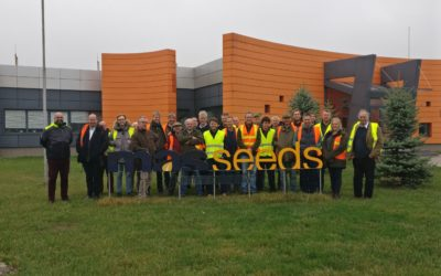 SEED PROCESSING – ONE MILLION BAGS A YEAR!
