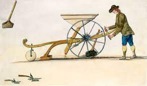 JETHERO TULL AND THE INVENTION OF THE SEED DRILL