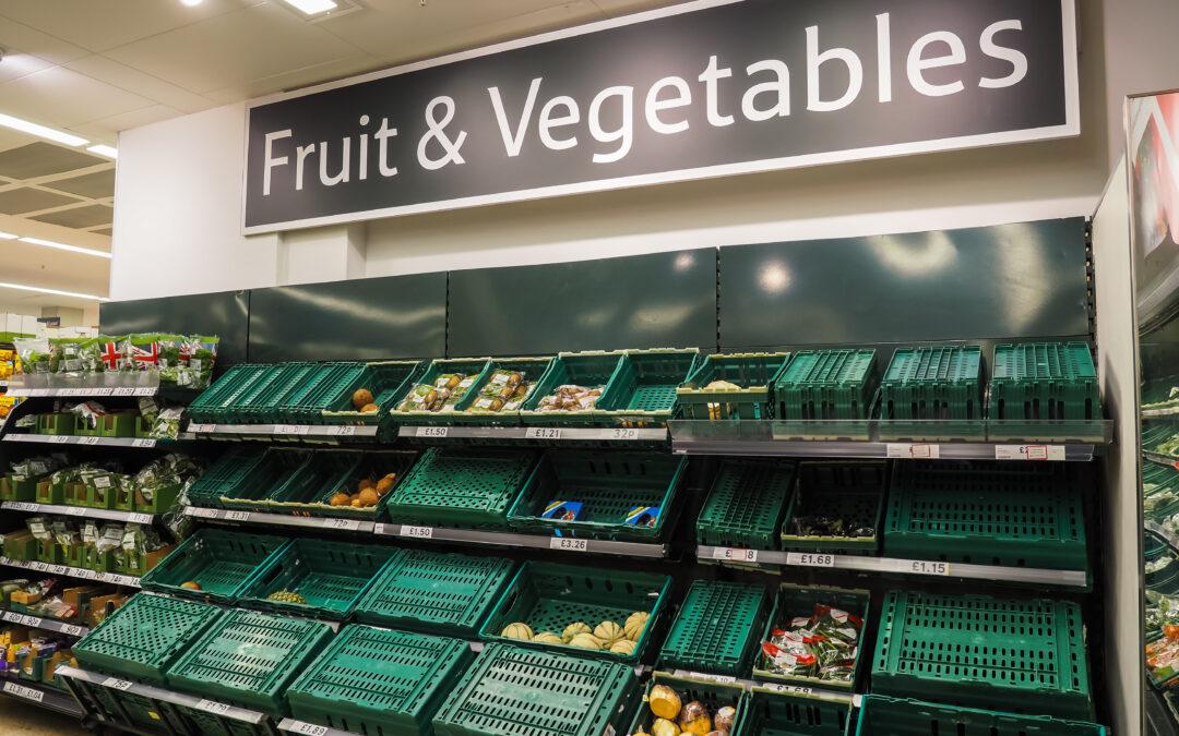 Food Shortages in British Supermarkets
